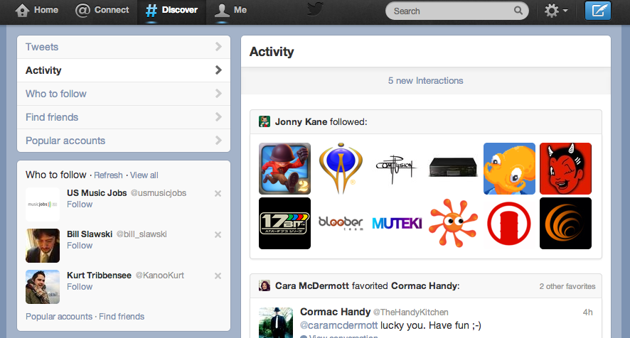 Twitter #Discover