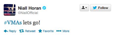 1D VMA Tweet