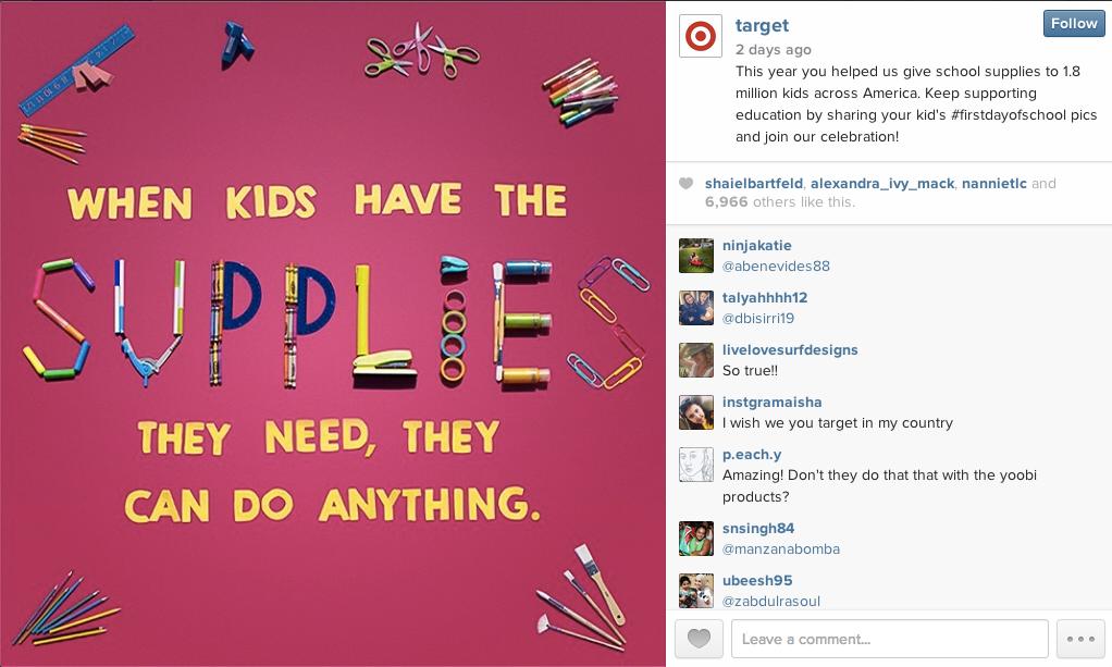 Target #firstdayofschool