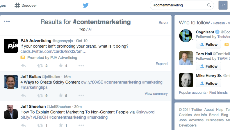 #contentmarketing