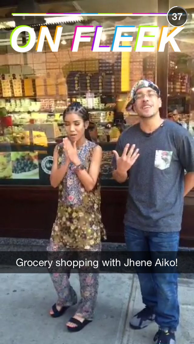MTV celeb grocery shopping