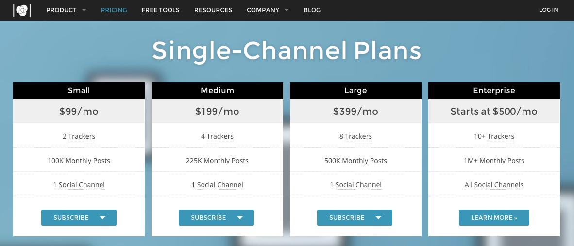 UM Single Channel plans