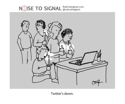 Twitter's down