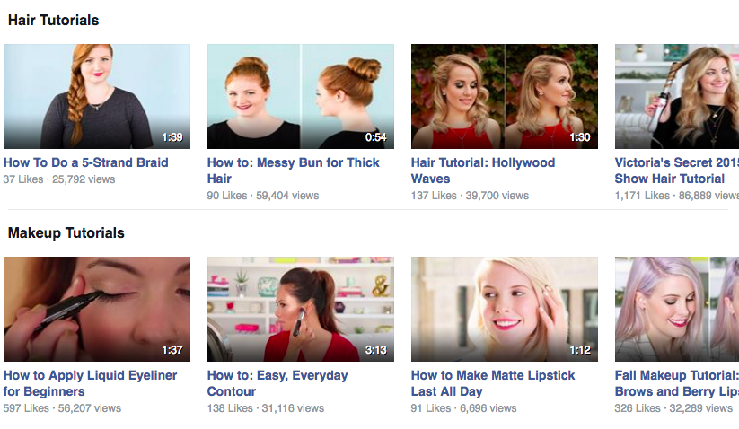 Birchbox videos