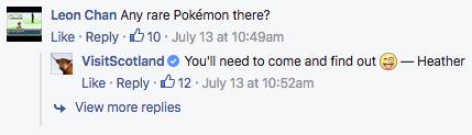 Visit Scotland Pokemon