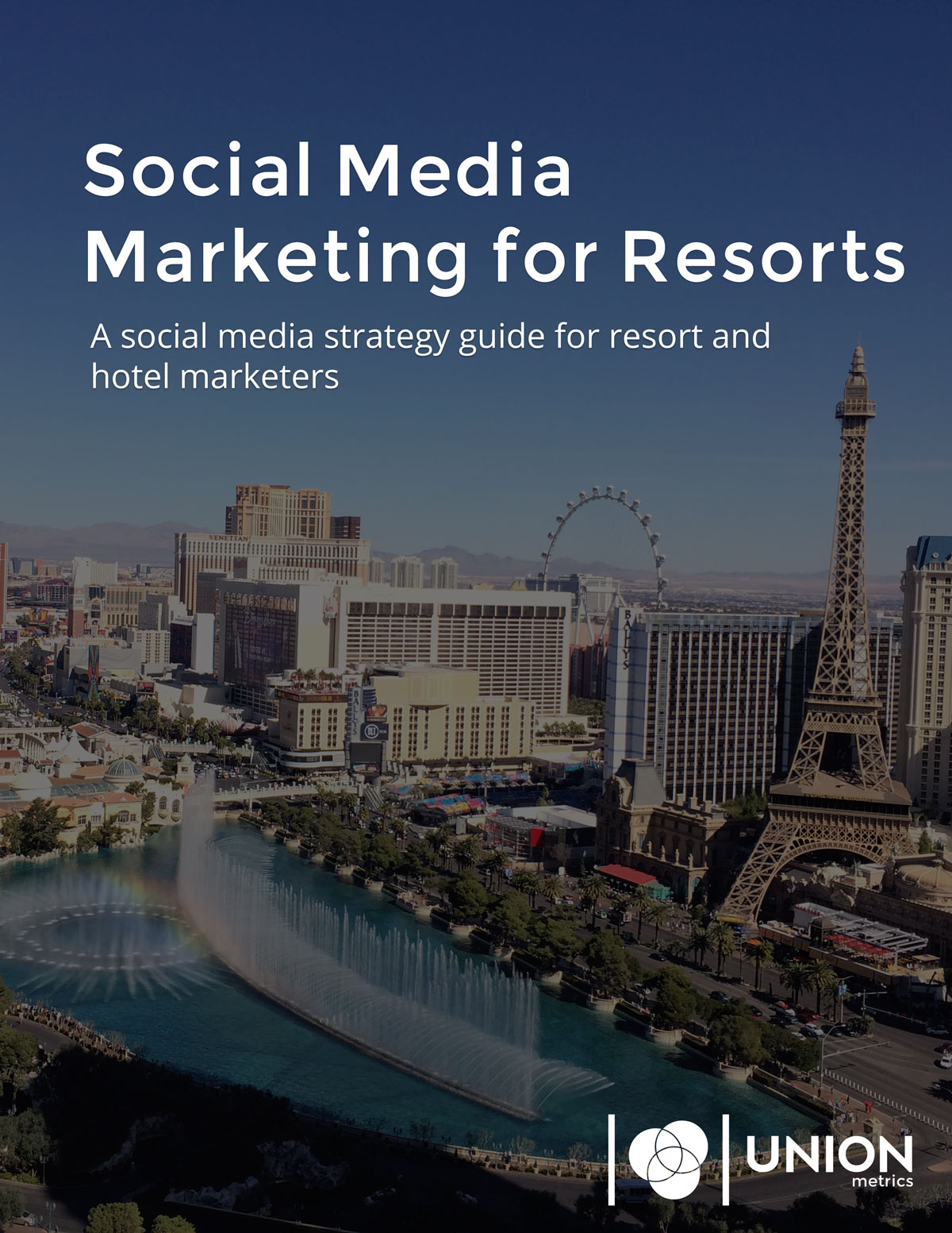Social media strategy for resort marketers