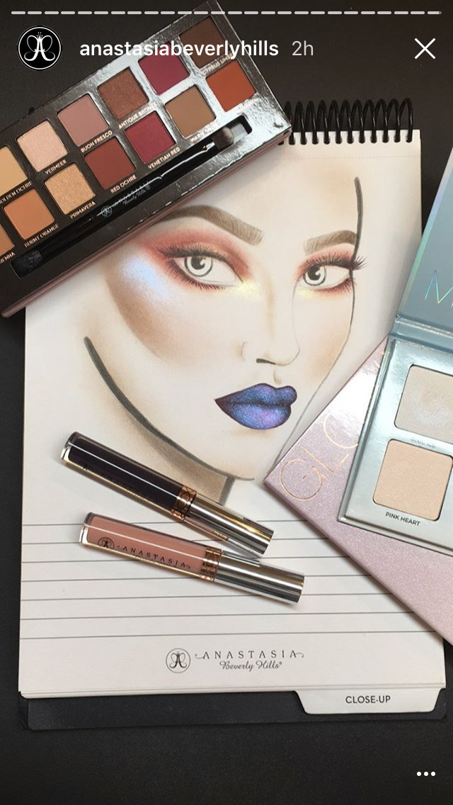 Anastasia Beverly Hills adds Instagram Stories to their