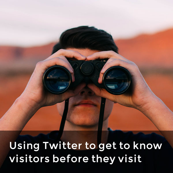 Get to know your visitors