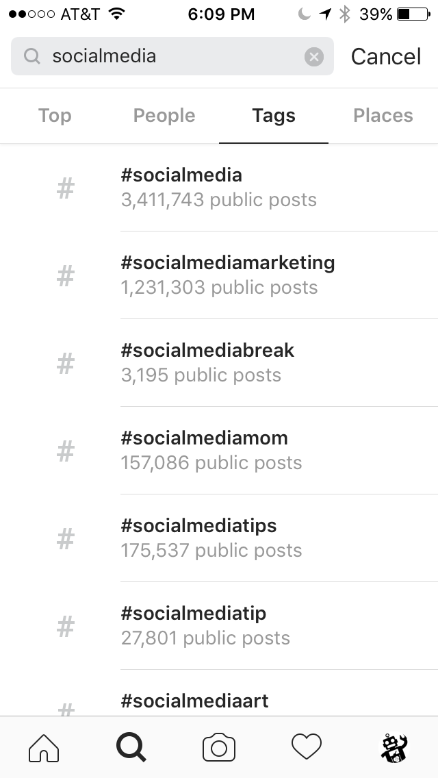 While This Already Gives You A Nice List To Start Working From Clicking On Any Of These Hashtags Will Also Take Screen Giving Another