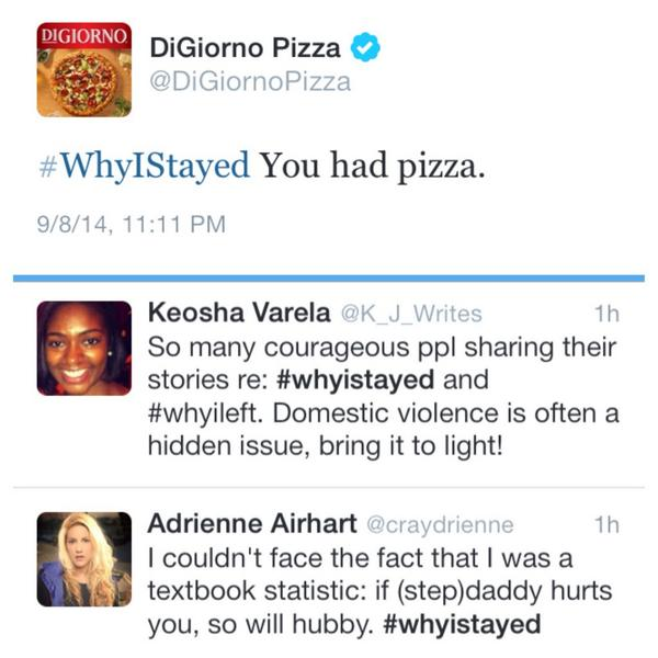 digiorno pizza why I stayed