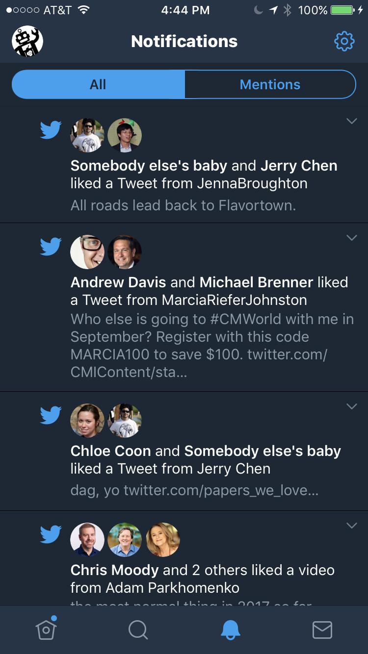 merle notifications